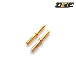 MALE TO MALE PIN ø 4mm (2PCS)