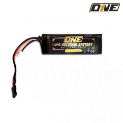 ONE LIPO RECEIVER BATTERY...
